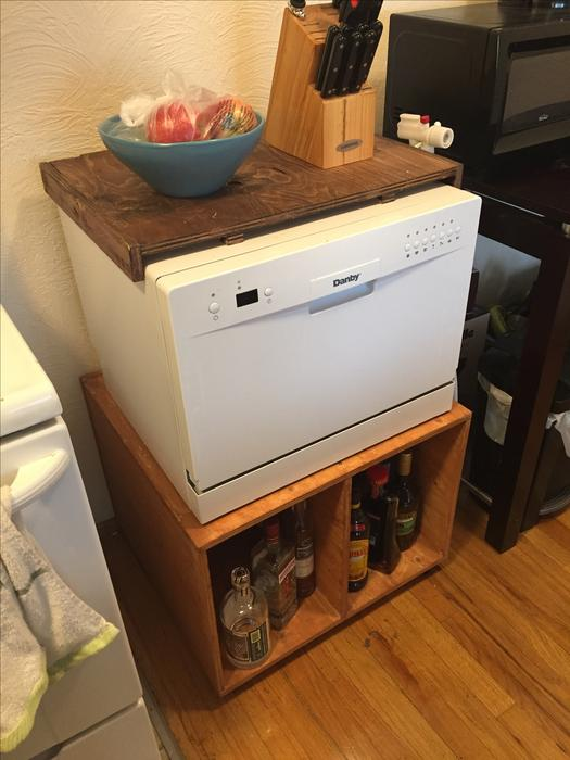 Countertop Dishwasher Winnipeg : Countertop dishwasher with rolling cabinet Victoria City, Victoria
