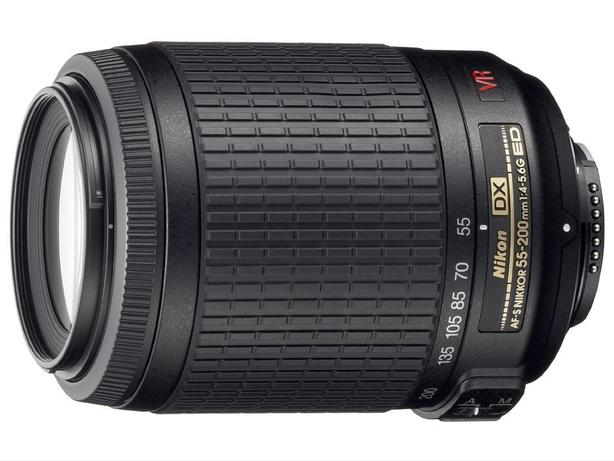 Nikon 55-200mm VR with filter