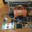 Nikon F film camera