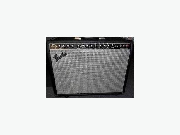 Fender Twin Reverb II amplifier