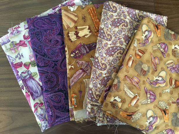 vintage inspired quilting cottons