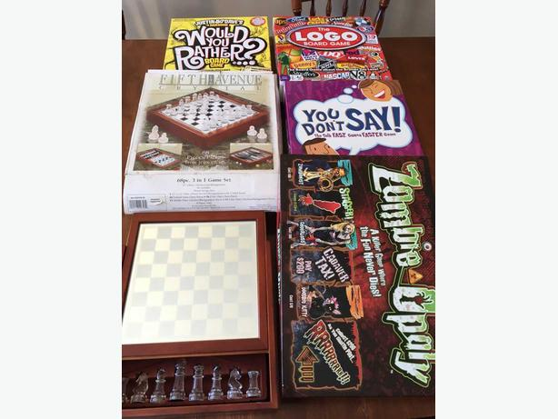3 in 1 Chess Set and board games