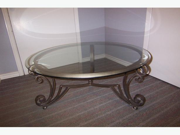 Glass Top Coffee Table 2 End Tables Kanata Ottawa Mobile