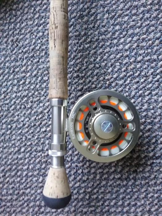 Fly fishing gear for sale rods reels flies outside for Used saltwater fishing reels for sale