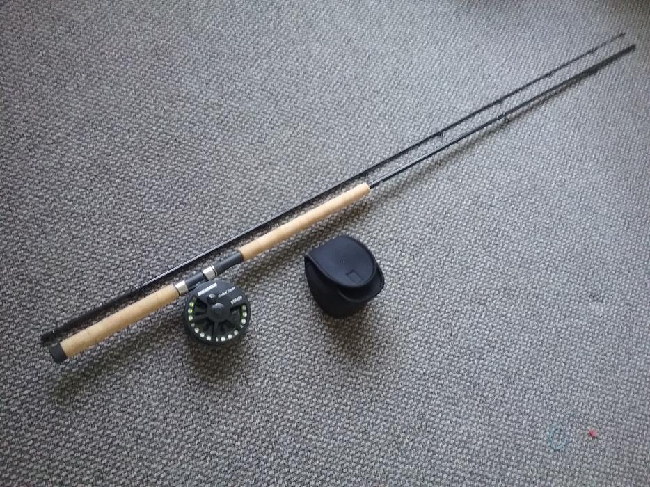 Fly fishing gear for sale rods reels flies cowichan bay for Used saltwater fishing reels for sale