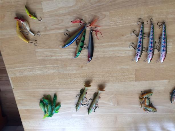 Tackle- rapalas, spoons, jigs, etc.  OFFERS.