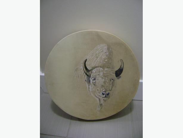 Inuit 1st Native Hand Made Drum