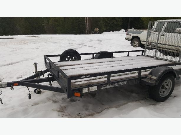 2013 Karavan sxs quad trailer.