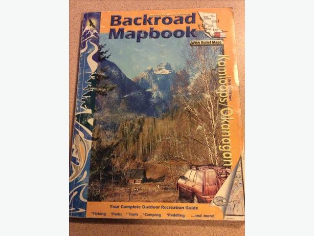 Backroads Mapbook Kamloops Okanagan