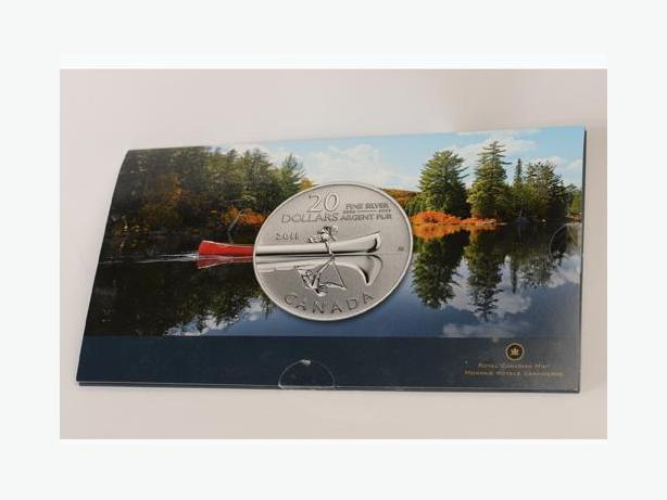 2011 Canada $20 Canoe (#2 in the $20 for $20 Series)