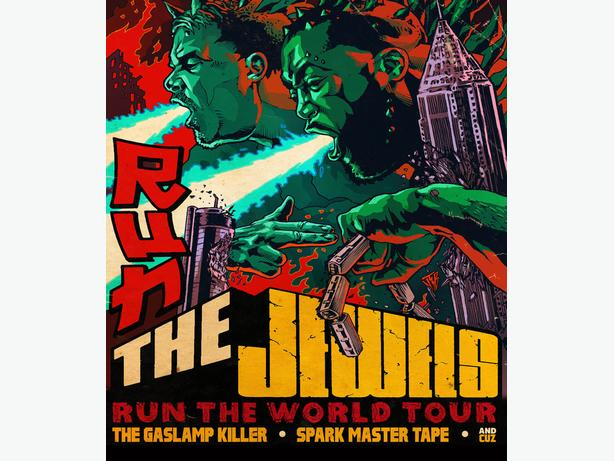 Two Tickets To See Run The Jewels Concert in Vancouver Febuary 8th