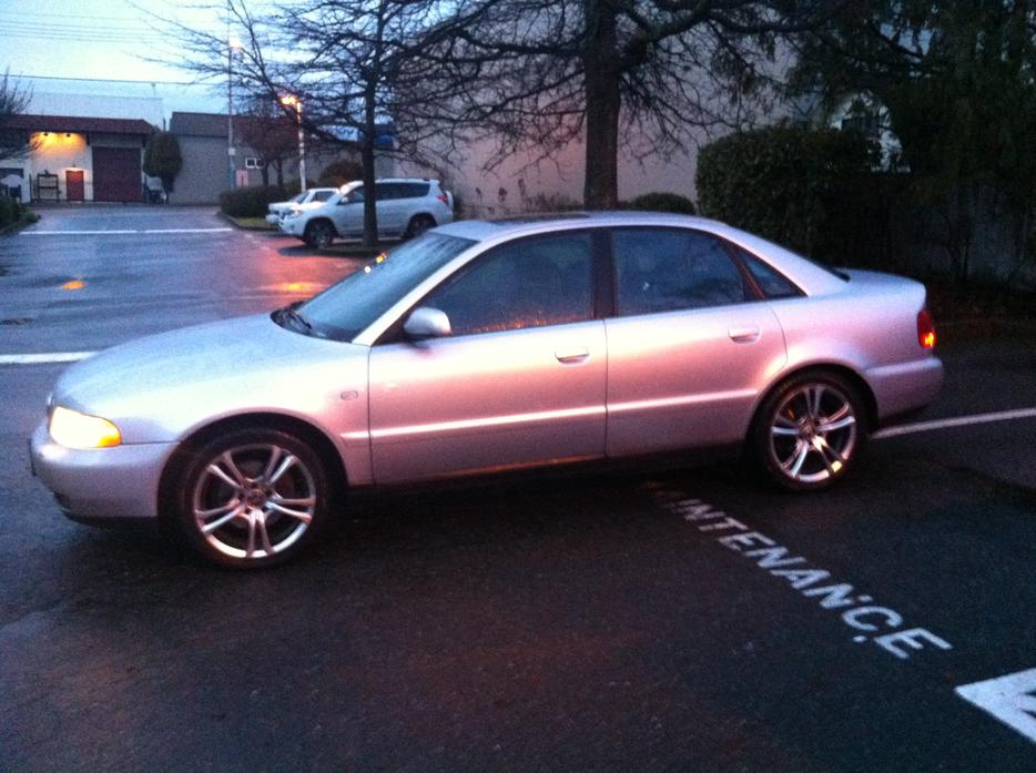 Audi A4 Quattro 1 8l Turbo Priced To Sell Fast Victoria City Victoria
