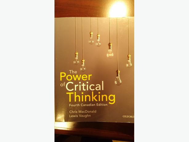 The Power of Critical Thinking   Paperback   Lewis Vaughn   Oxford     From the Publisher