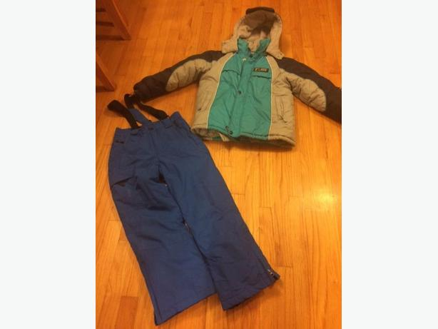 kids snow pants & winter jacket