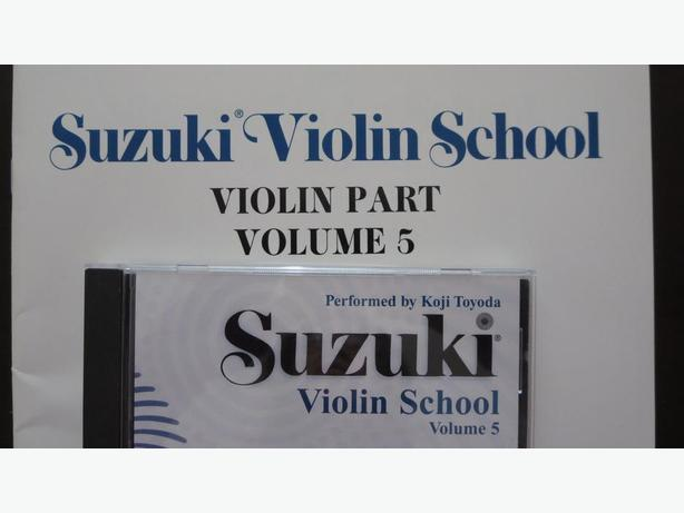 Suzuki Violin School, Vol 5 (Book and CD)