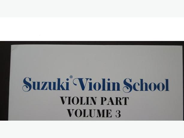 Suzuki Violin School, Violin Vol 3 (violin part book and CD) by Koji toyoda