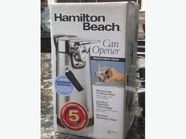 B&D Jar Opener & Hamilton Beach Can Opener