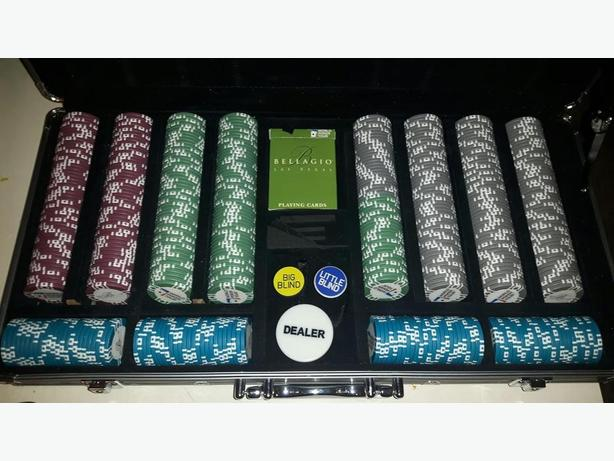 World Poker Tour Bellagio Poker Chip Set