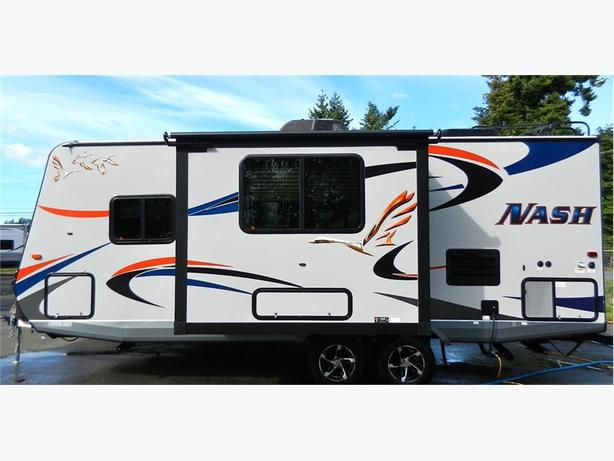2017 Nash 23d Beautiful Trailer With Slide Out Nook For
