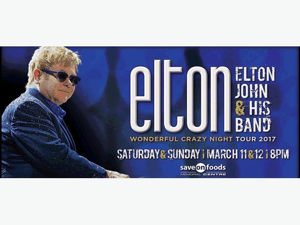Two Elton John Tickets