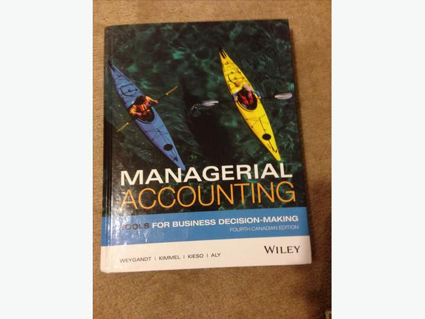 Camosun Bus Law 176 Textbook and Managerial Account 207