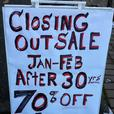Closing out Art Sale