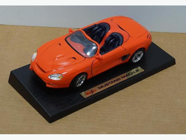 """""""Mustang Mach III"""" Die-Cast 1:18 Scale Model by Maisto – Good Condition"""