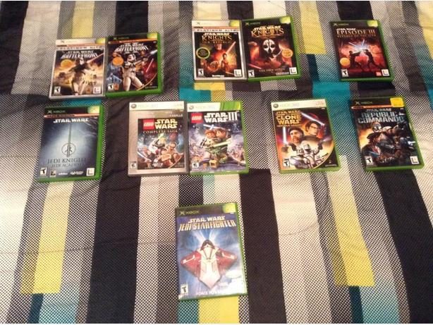 Rare hard to find Star Wars Games, For Xbox