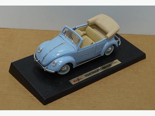 """""""Volkswagen Cabriolet 1951"""" Die-Cast 1:18 Scale Model  Maisto – Good Condition"""