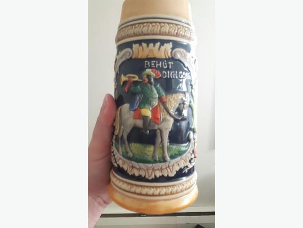 German Vintage Beer Stein 1 L