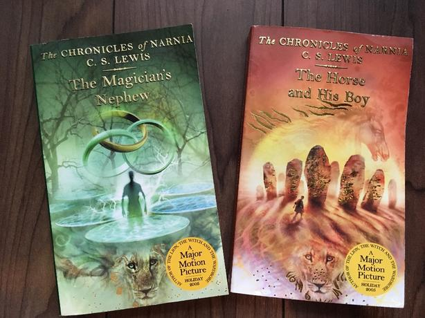 The Chronicles of Narnia Books by C.S. Lewis