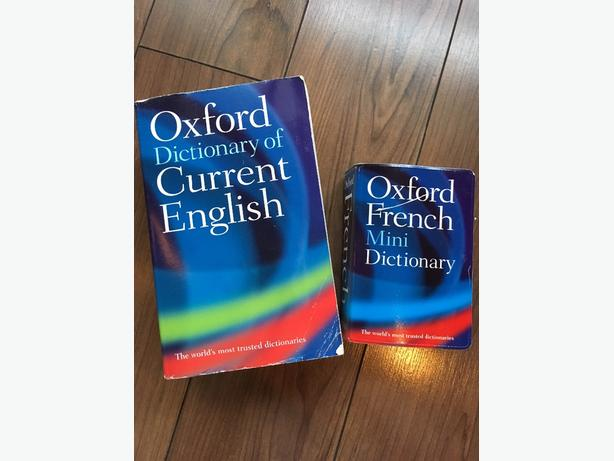 Oxford Dictionaries - Current English and French by