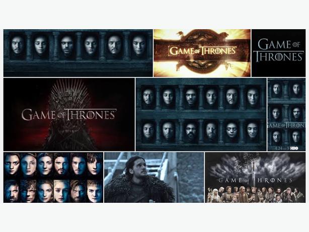 Game of thrones season 1-6
