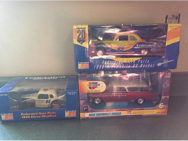 Old Die cast Cars