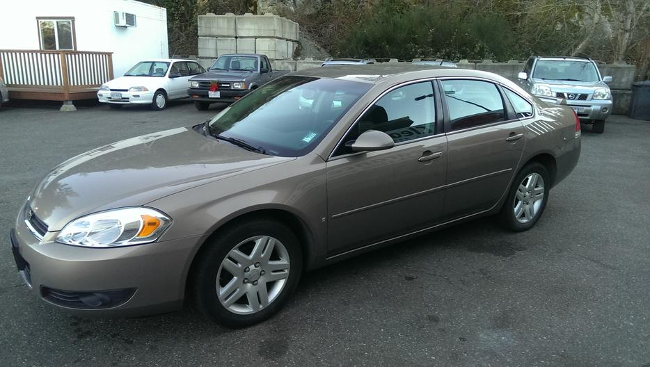2006 Chevrolet Impala Ltz Very Clean Amp Only 56676 Kms