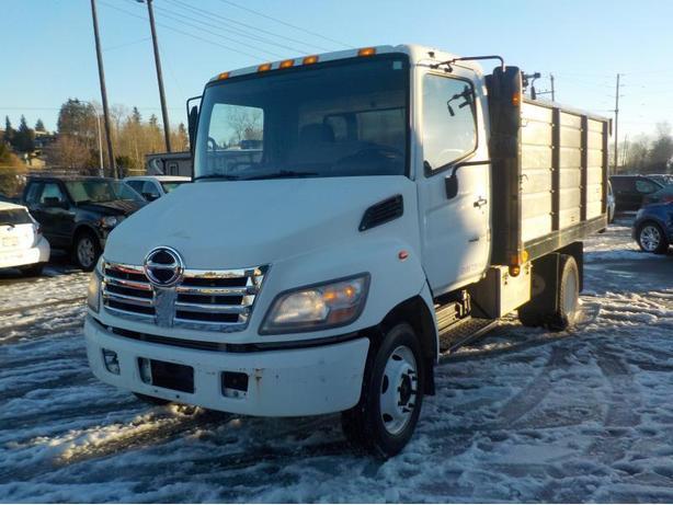 2007 Hino 165 Diesel Dually with Hydraulic Dump Box