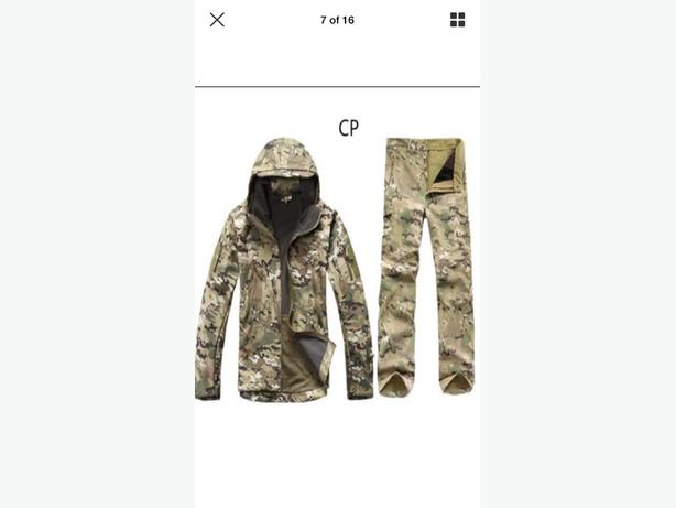 Camo Outdoor Jacket and Pants