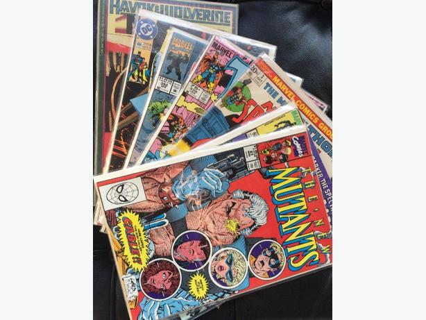 box of comics