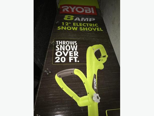 Ryobi Electric Snow Shovel