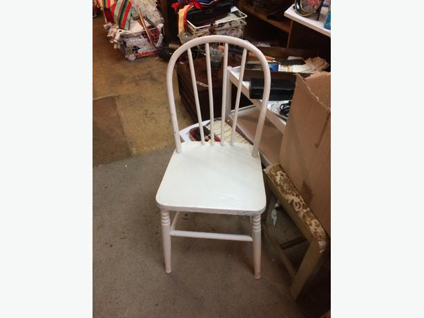 vintage chair painted