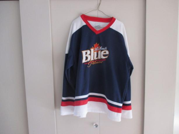 Labatts Blue hockey jersey