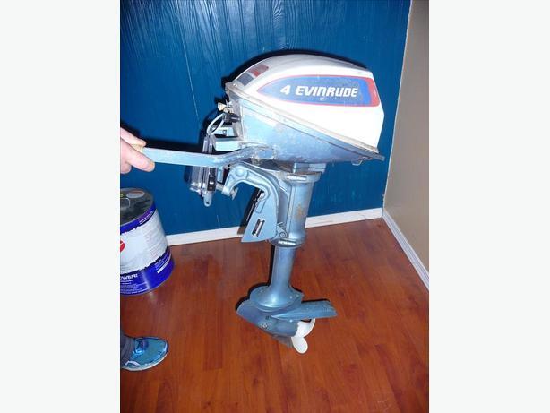 Evinrude 4 hp kicker