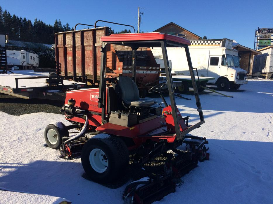 Toro Reelmaster 5400 D Diesel Lawn Mower Qualicum Nanaimo