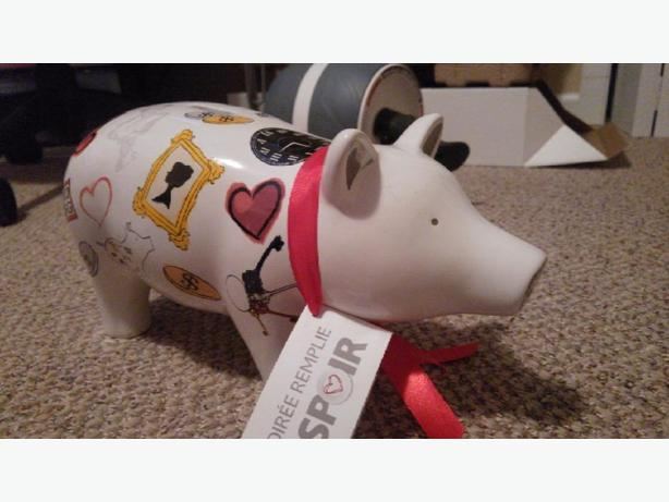 Cute ceramic Piggy bank