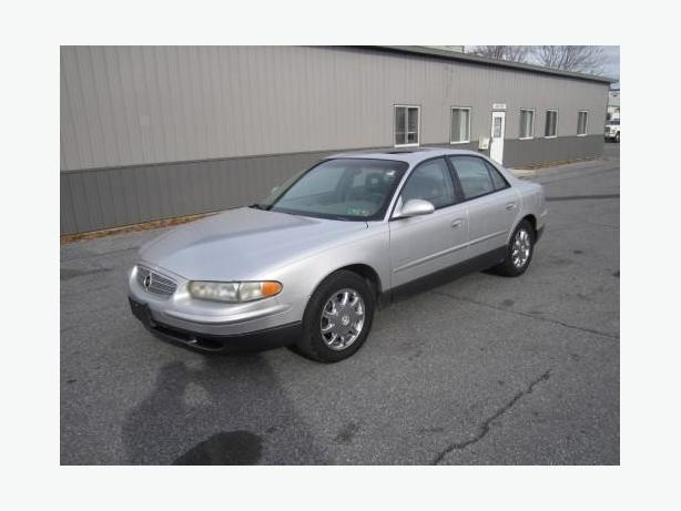 Silver 2001 Buick Regal GS