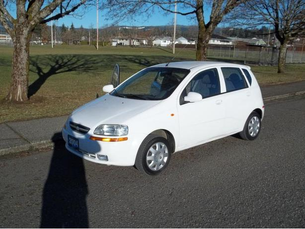 2004 CHEVROLET AVEO-CALL HART AT 250 724 3221