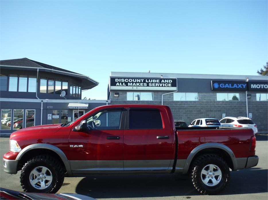 Galaxy Motors Courtenay >> 2010 Ram 1500 Outdoorsman Crew 5.7L V8 HEMI Short Box - 4WD West Shore: Langford,Colwood ...