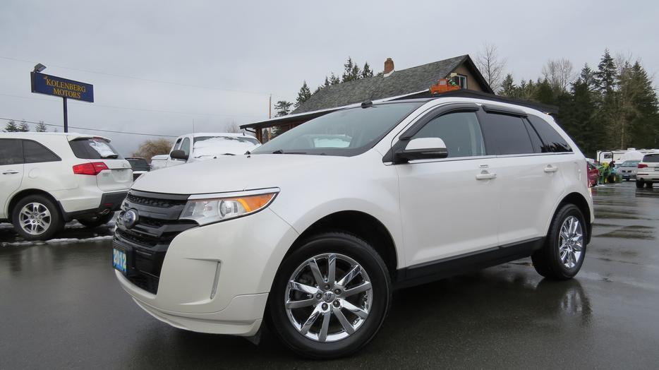 2012 Ford Edge Limited Fwd Outside Victoria Victoria