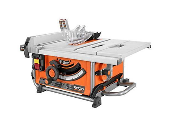 Rigid 10inch portable table saw west shore langford for 10 portable table saw