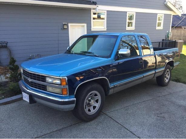 1993 Chevy 2500 Ext Cab